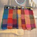 Repasador JAB Nido de Abeja a Cuadros Color Aspero Decorativo en Algodón y Poliester.