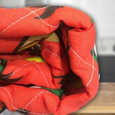 Cover Infantil Danubio Angry Birds para 1 y Media Plaza en Poliester y Acrilico.