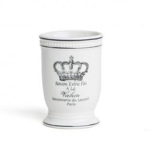 Vaso de Baño Dulav Modelo Arte Corona en Ceramica.