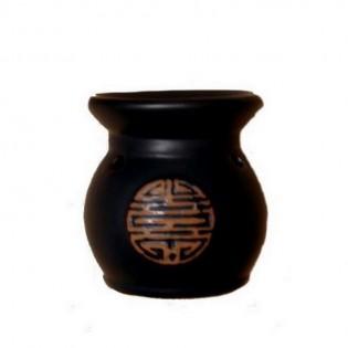 Hornillo Ruwadama Horno Panza Negra Circular de Ceramica.
