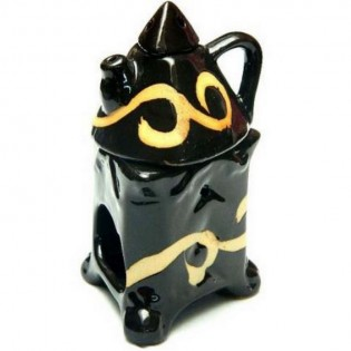 Hornillo Ruwadama Horno Color Triangulo con Tetera de Ceramica.