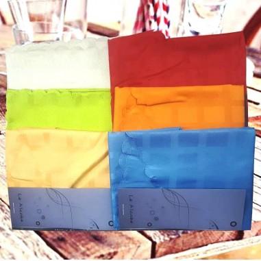 Mantel GAE Rectangular Antimancha de 250 cm a Cuadros en 100% Poliester.