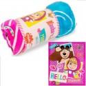 Frazada Infantil Piñata Disney Manta de Viaje Estampada Flanel para 1 y Media Plaza de 100% Poliester.