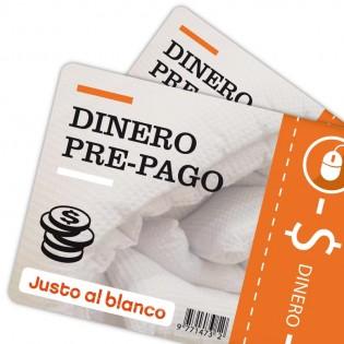 Dinero Justo Al Blanco - Pago por Internet
