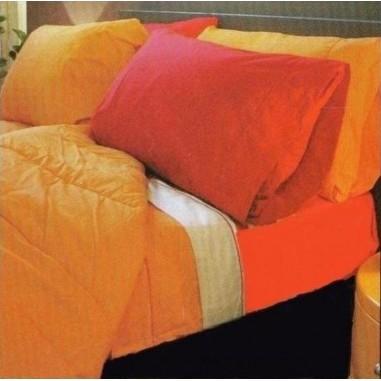 Juego de Sabanas Homeland Living Colors para Queen Size con 2 Fundas de Almohada, de 144 Hilos en 100% Algodón.