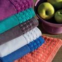 Toallon Arco Iris Pretige de algodón peinado que favorece la absorción y suavidad de 550 grs/m2 en 100% Algodón.