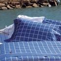 Juego de Sabanas Nautica Estampadas para Queen Size con 2 Fundas de Almohada, de 180 Hilos en Algodón y Poliester.