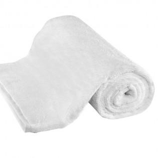 Toalla Franco Valente Lisa Blanca de 400 grs/m2 en 100% Algodón.